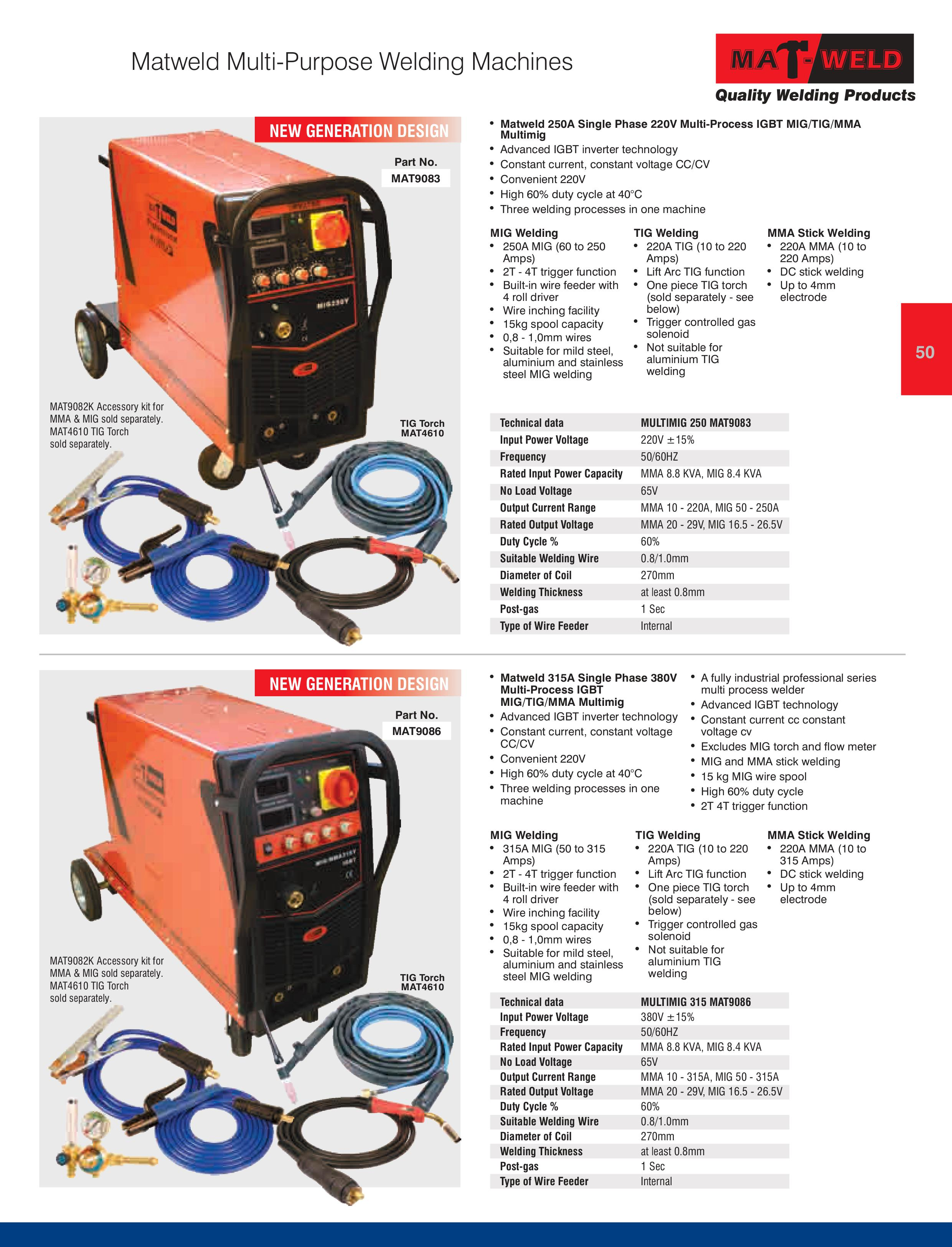 Matweld Product Catalogue R And H Industrial Inverter Welding Machines Diagram